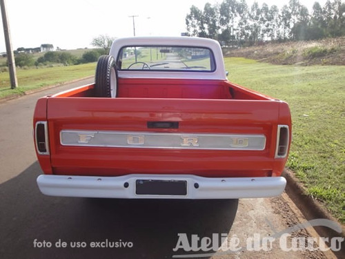 ford pick up f-100 79 super série - vendida ateliê do carro