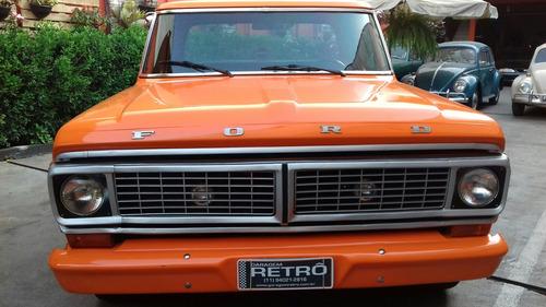 ford pick-up f-100 v-8 garagem retrô