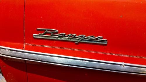 ford pick-upranger 1968 completa o por partes