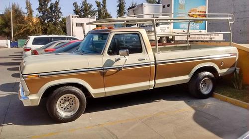 ford pickup 1975, automática motor v-8 302