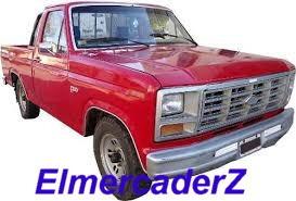 ford p.up camion f100 83 al 91 moldura zocalo estribera