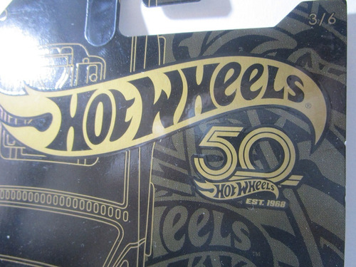 ford ranchero escala 1/64 coleccion hot wheels 50th de lujo