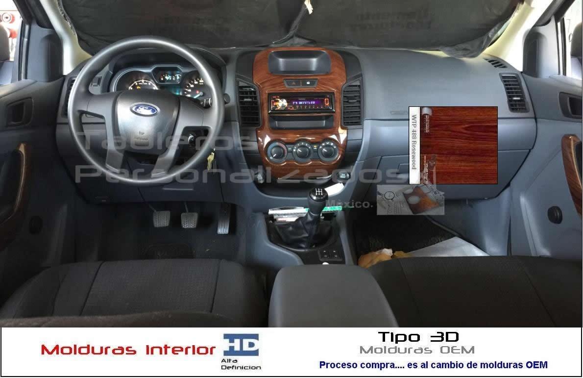 Ford Ranger 2014-2018 Molduras Tablero Xl- Xlt - Limited ...