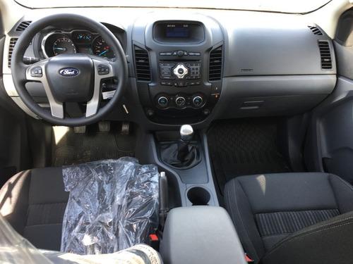 ford ranger 2.2 cd xl 4x2 2019 blanco  entrega inmediata ar5