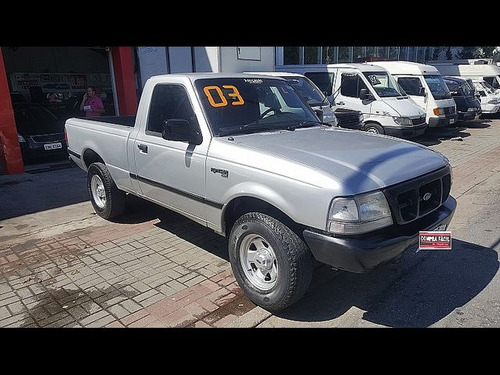 ford ranger 2.2 xl cs 16v - aceito troca 2003
