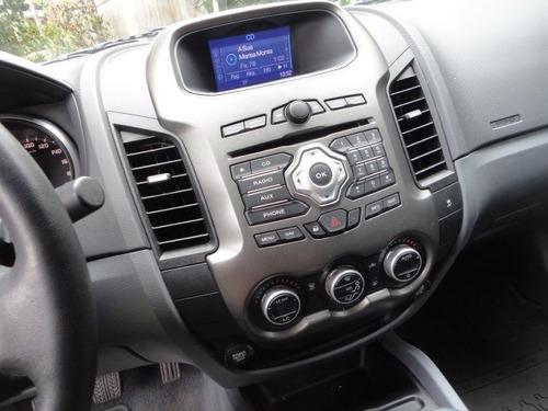 ford ranger 2.5 limited cab. dupla 4x2 novissima 22.000km !!
