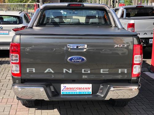ford ranger 2.5 xlt cab. dupla 4x2 flex 4p 2015 compl. nova