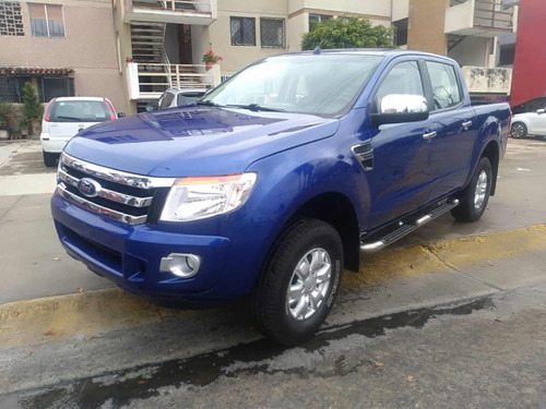 ford ranger 2.5 xlt cabina doble 4x2 mt 2015