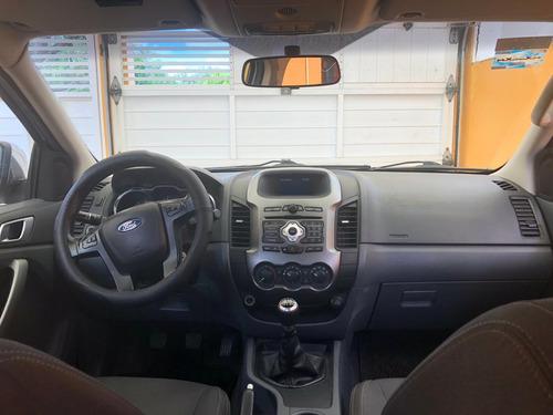 ford ranger 2.5 xlt cabina doble 4x2 mt 2015