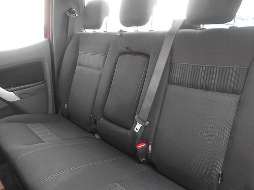 ford ranger 2.5 xlt cabina doble 4x2 tm 2017 rojo