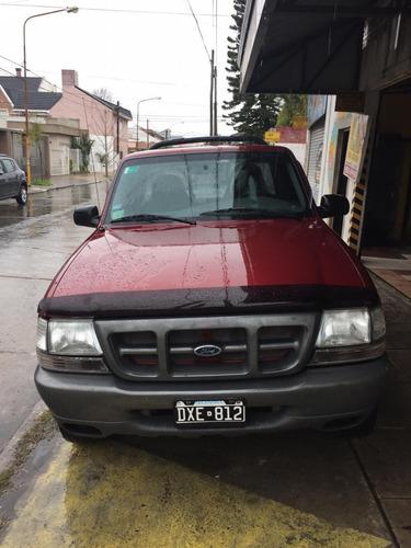 ford ranger 2.8 turbo diesel cabina simple 4x4 2001 nueva