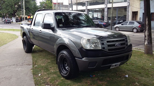ford ranger 3.0 cd xl plus 4x2 año 2012 color gris oscuro