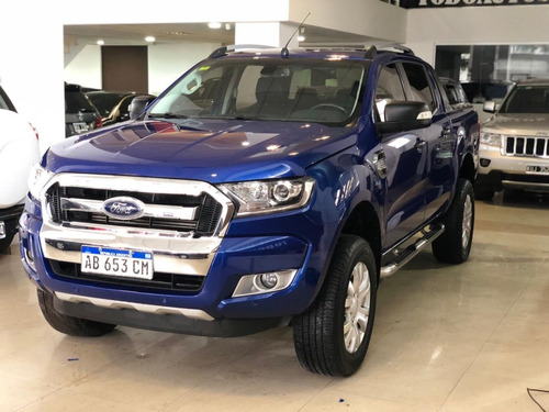 ford ranger 3.2 cd limited tdci automática año 2018 azul