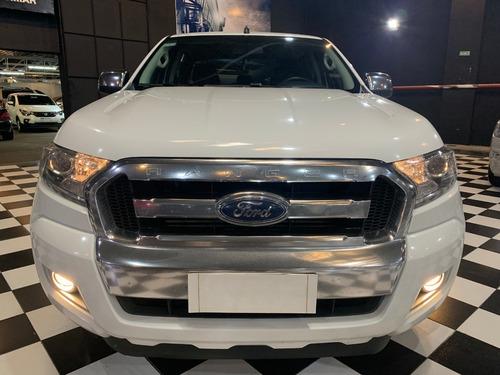 ford ranger 3.2 xlt 4x4 200cv doble cabina 2017 blanca cpm