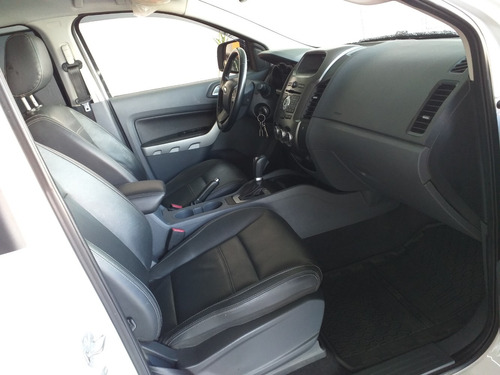 ford ranger 3.2 xlt cab. dupla 4x4 aut. 4p 2016 branca