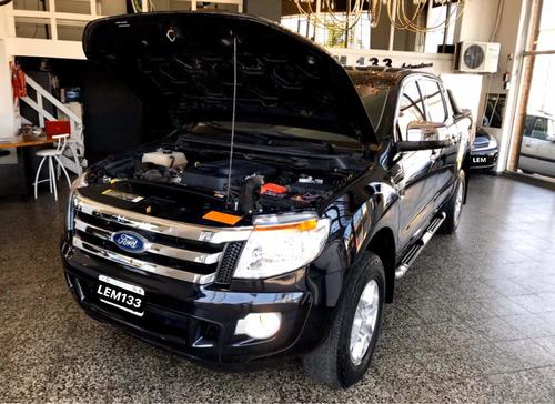 ford ranger 3.2d xlt automatica 4x4 doble cabina, anticipo $