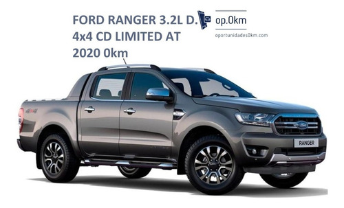 ford - ranger - 3.2l d. 4x4 cd limited at - 2020 - 0km