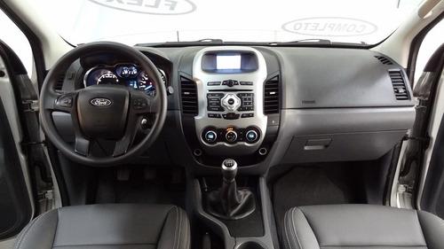 ford ranger (cabine dupla) 2.5 flex 4x2 cd xlt 2013