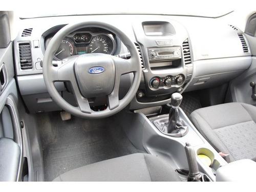 ford ranger crew cab xl 4x2 gasolina 2017 seminuevos