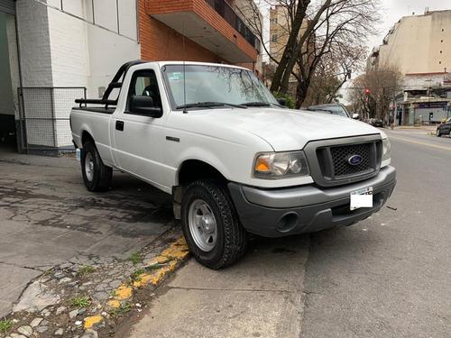 ford ranger cs 4x2 f-truck 3.0l d blanca 2007