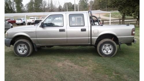 ford ranger dc 4x2 xl plus 3.0 d 2008 color beige