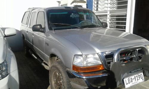 ford ranger doble cabina pikut con cupula 2001