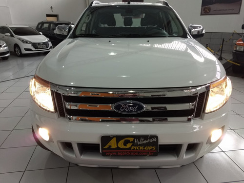 ford ranger dupla limited 2016 branca 3.2 die autom top 20km