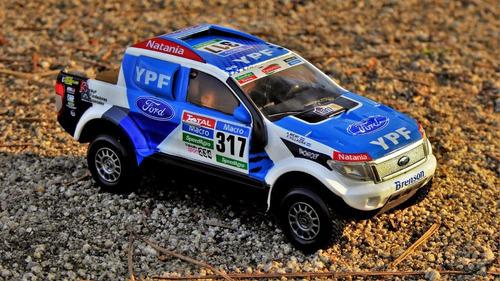 ford ranger limited 2014 auto coleccion dakar 1:43 miniatura