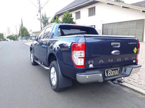 ford ranger limited 3.2 20v 4x4 cd 2013 azul diesel