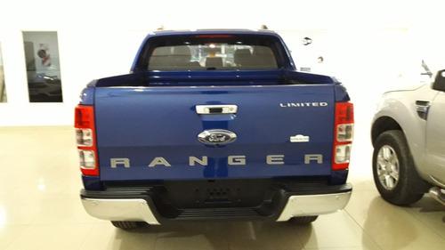 ford ranger limited 4x4 manual 2018 0 km | negra