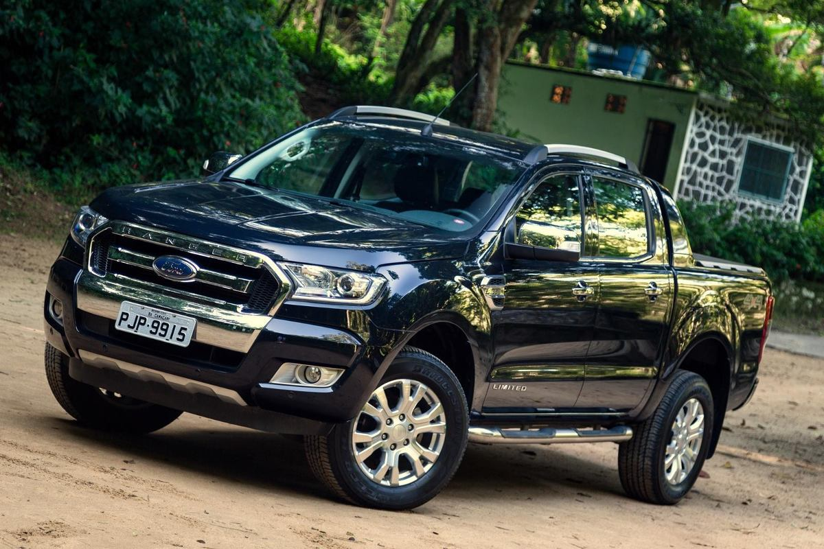 ford ranger limited diesel automatico top r 168. Black Bedroom Furniture Sets. Home Design Ideas