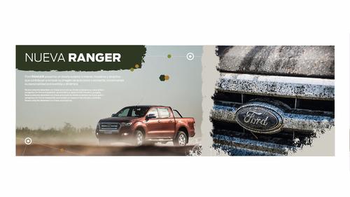 ford ranger plan 70/30 financiado