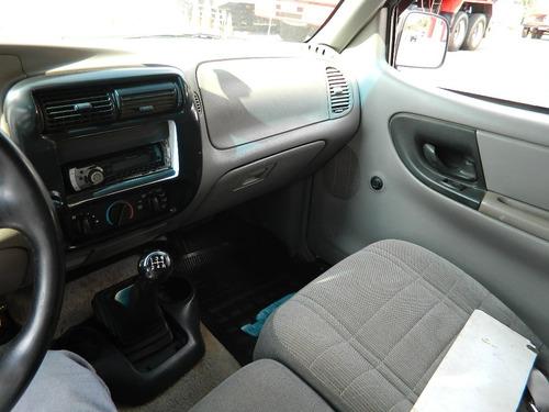 ford ranger xl 1996 ar condicionado gnv e baú 2,10 x 1,80