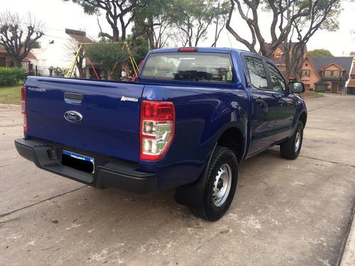 ford ranger xl plus 4x2 2.2tdci 150hp l/2018 azul 0km!!