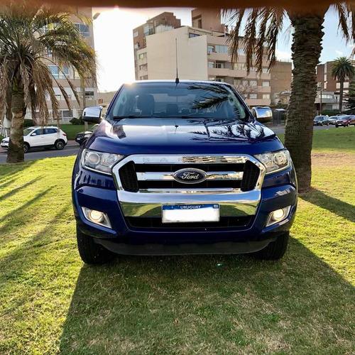 ford ranger xlt 2017 ficha oficial un dueño permuto financio