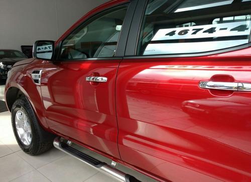 ford ranger xlt 3.2 4x2 cd anticipo y cuotas, tasa 0% m.