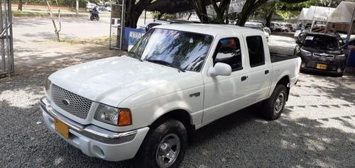 ford ranger xlt 4x4 motor 4.0 2002 4 puertas