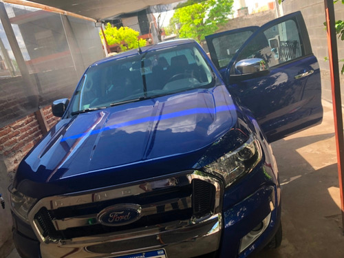 ford ranger xlt 4x4 unica mano estado impecable y pocos kms