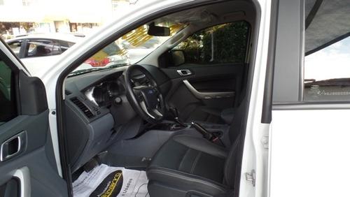 ford ranger xlt cd 2015/2016 3.2 4x4 completa aut branca