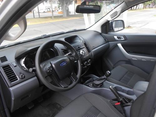 ford ranger xlt  crew cab 4-ptas 2017 seminuevos