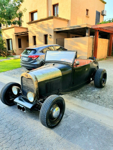 ford roadster hot rod rat