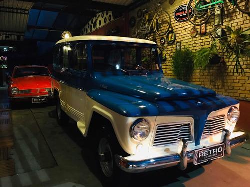 ford rural whillys 1963 4x4 garagem retrô