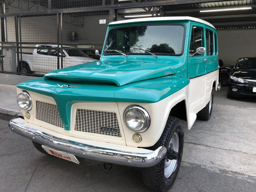 ford rural willys 4x4 - 6 cilindros