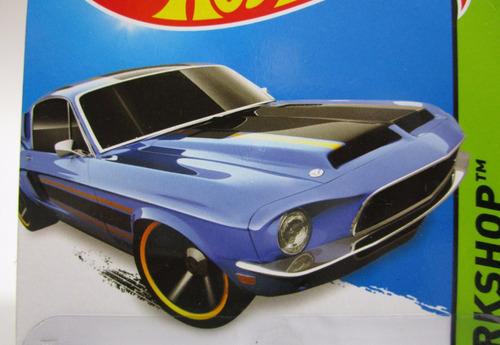 ford  shelby escala 7cm largo coleccion hot wheels 1/64