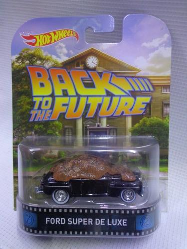 ford super de luxe hot wheels retro llanta de goma bdv06