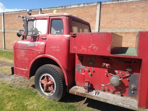 ford super duty, camion de bomberos clasico 1963