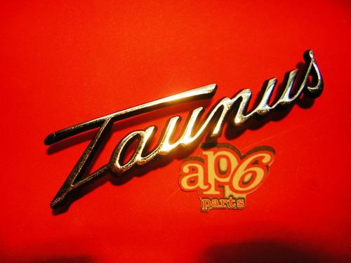 ford taunus 74/ 81- insignia modelo l de baul nueva!!!!!
