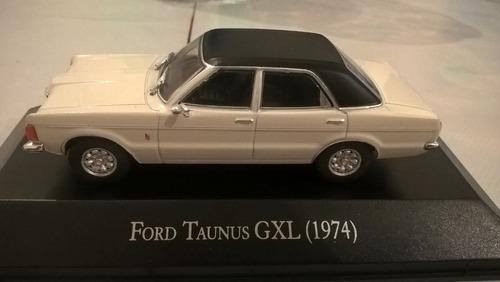 ford taunus gxl (1974) de coleccion escala,con revista.