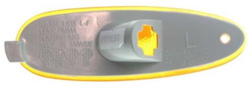 ford taurus 1996 - 1999 faro cuarto direccional izquierdo