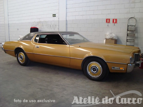 ford thuderbird hard top sport luxury 72 v8 7.0 de cinema -